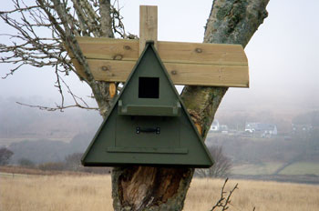 New                             Barn Owl Box made by Neil Gallimore